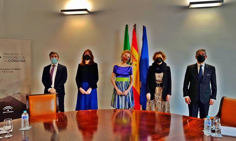 ADEPE realiza su visita oficial a su sede en el Sur, el Palacio de Congresos de Córdoba y define el plan estratégico anual junto a su Vicepresidente, Juan Salado Soto